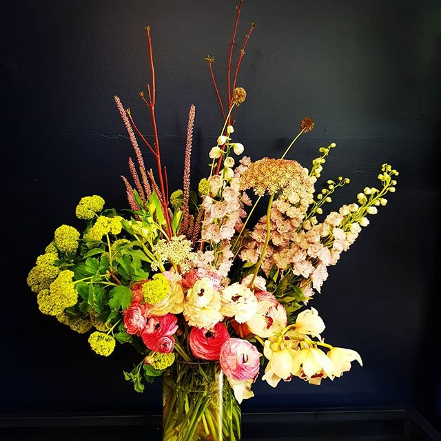 Custom floral arrangements for events by Florian Florist