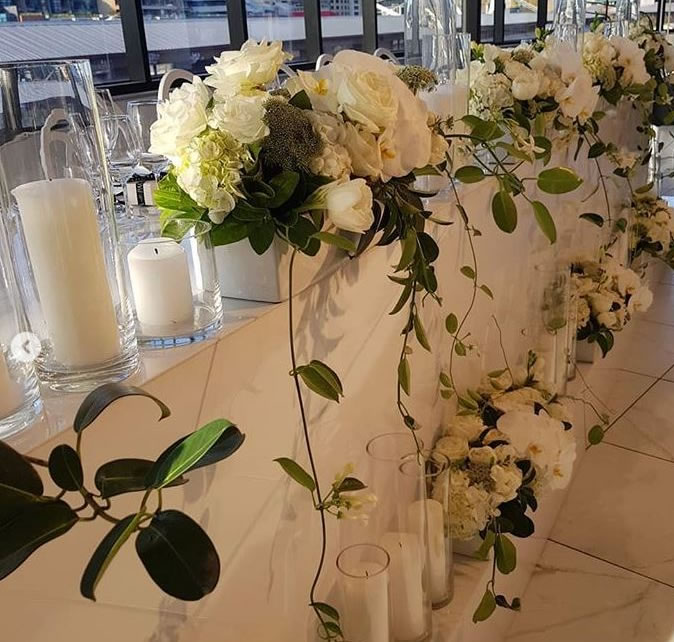 Table Decorations by Florian Florist