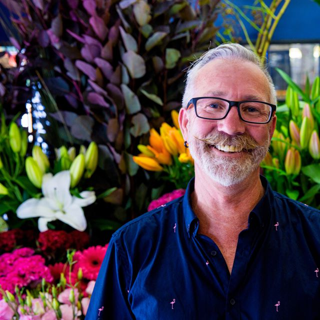 Leigh Clark owner of Florian Florist Toorak